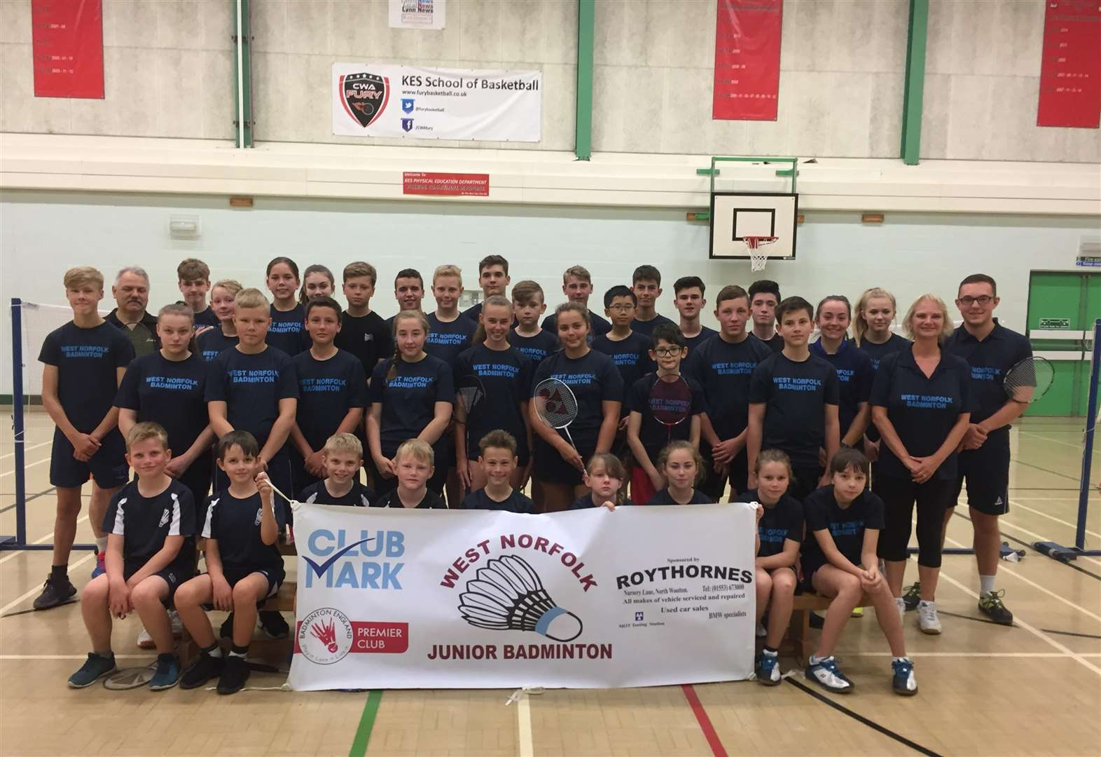 West Norfolk junior badminton players prepare for busy season