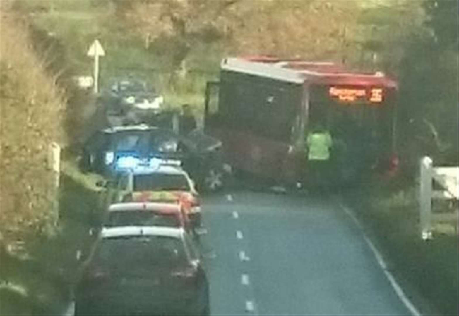 Suspected life-threatening injuries following A149 Hunstanton accident