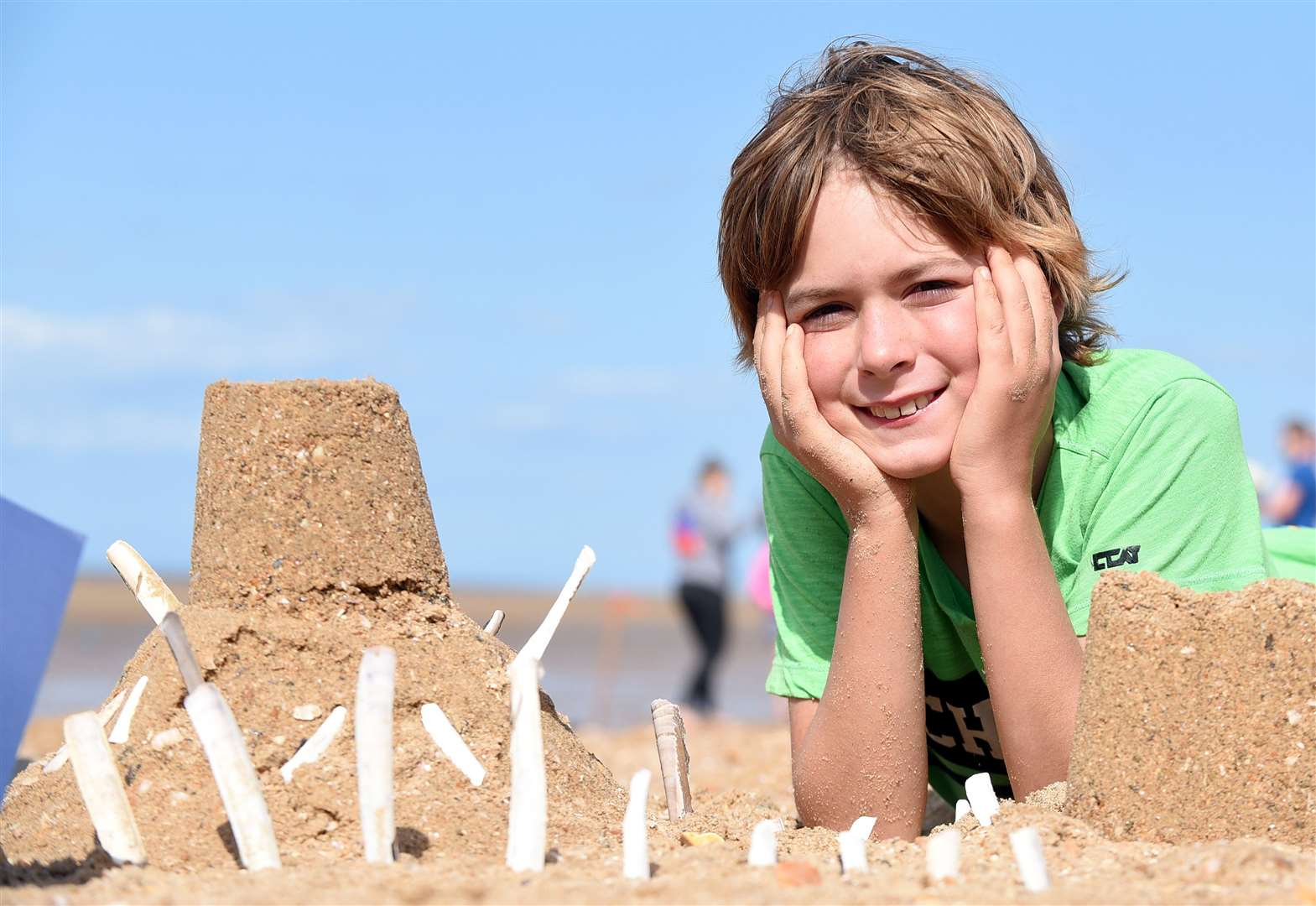Life's a beach as sand sculptors get creative at Old Hunstanton