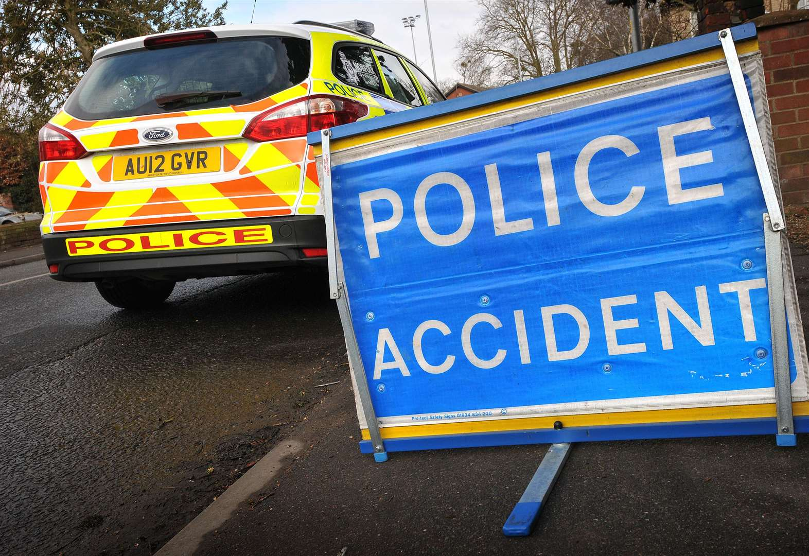Serious injuries reported as car overturns on A47