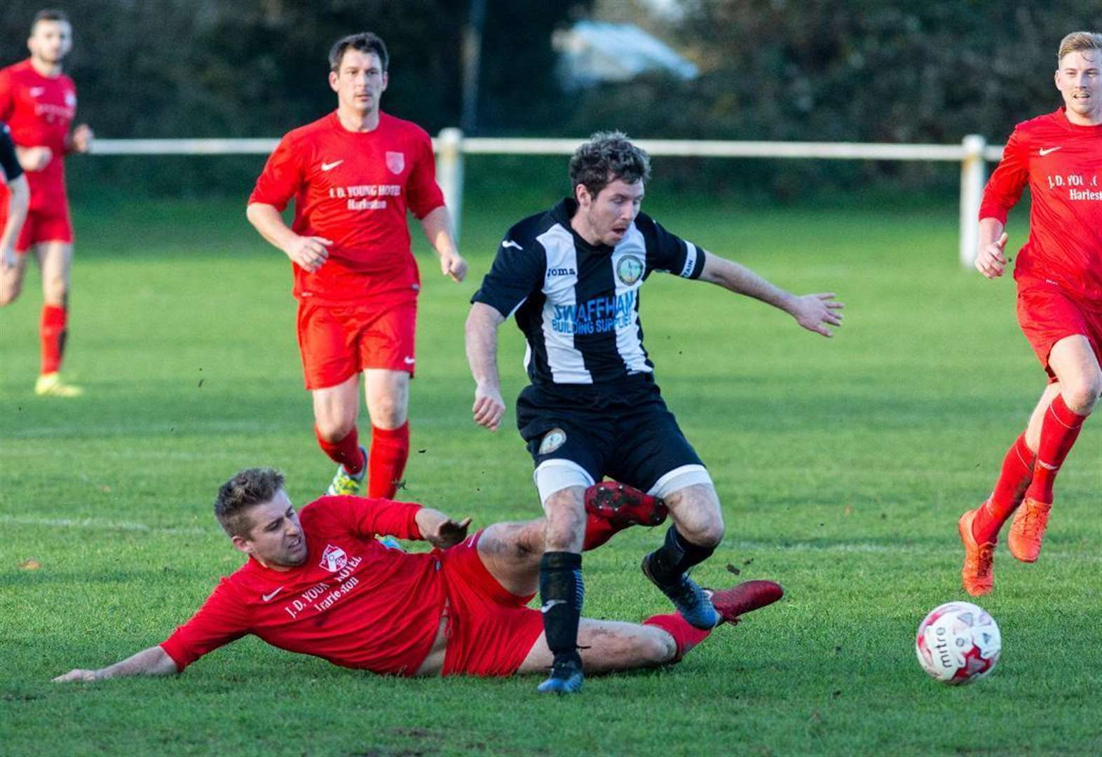 Swaffham Town boss Paul Hunt delighted after watching his side underline their Thurlow Nunn Division One North title chances