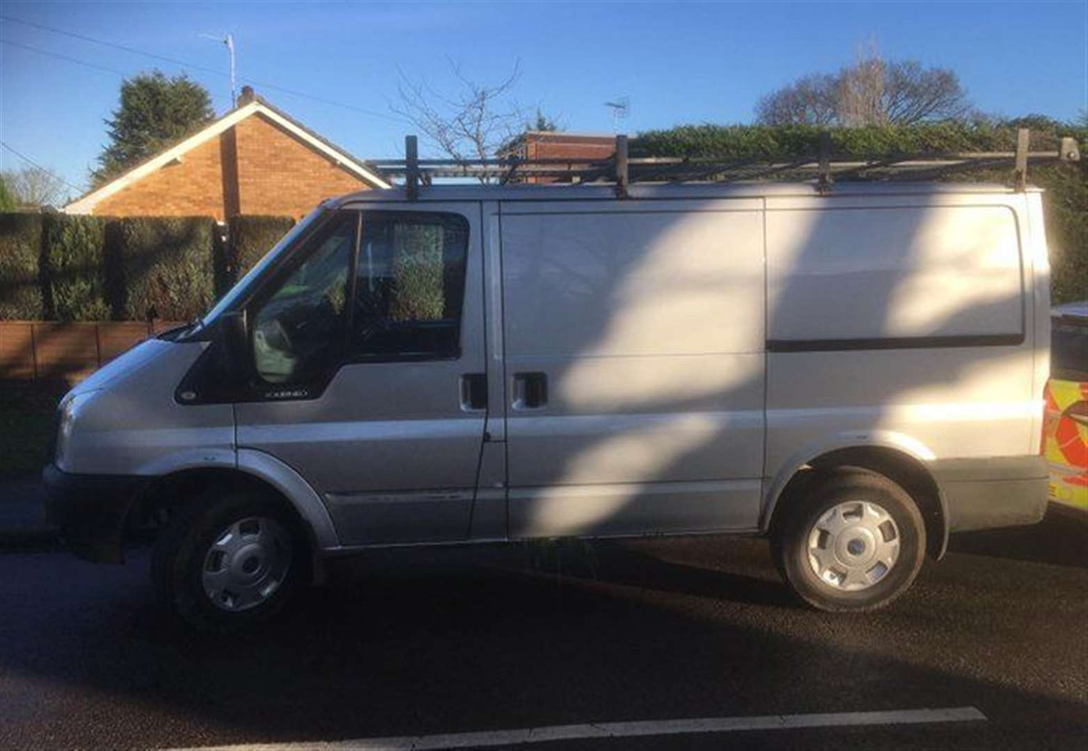 Man arrested and van seized after police search in village