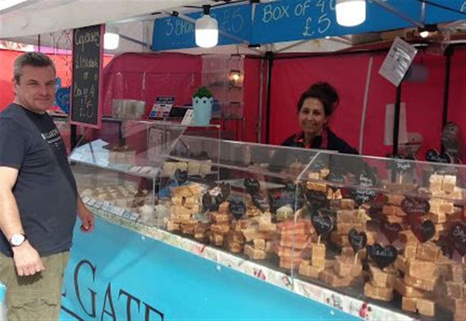 International flavours and products available at special market open for six days in Lynn town centre