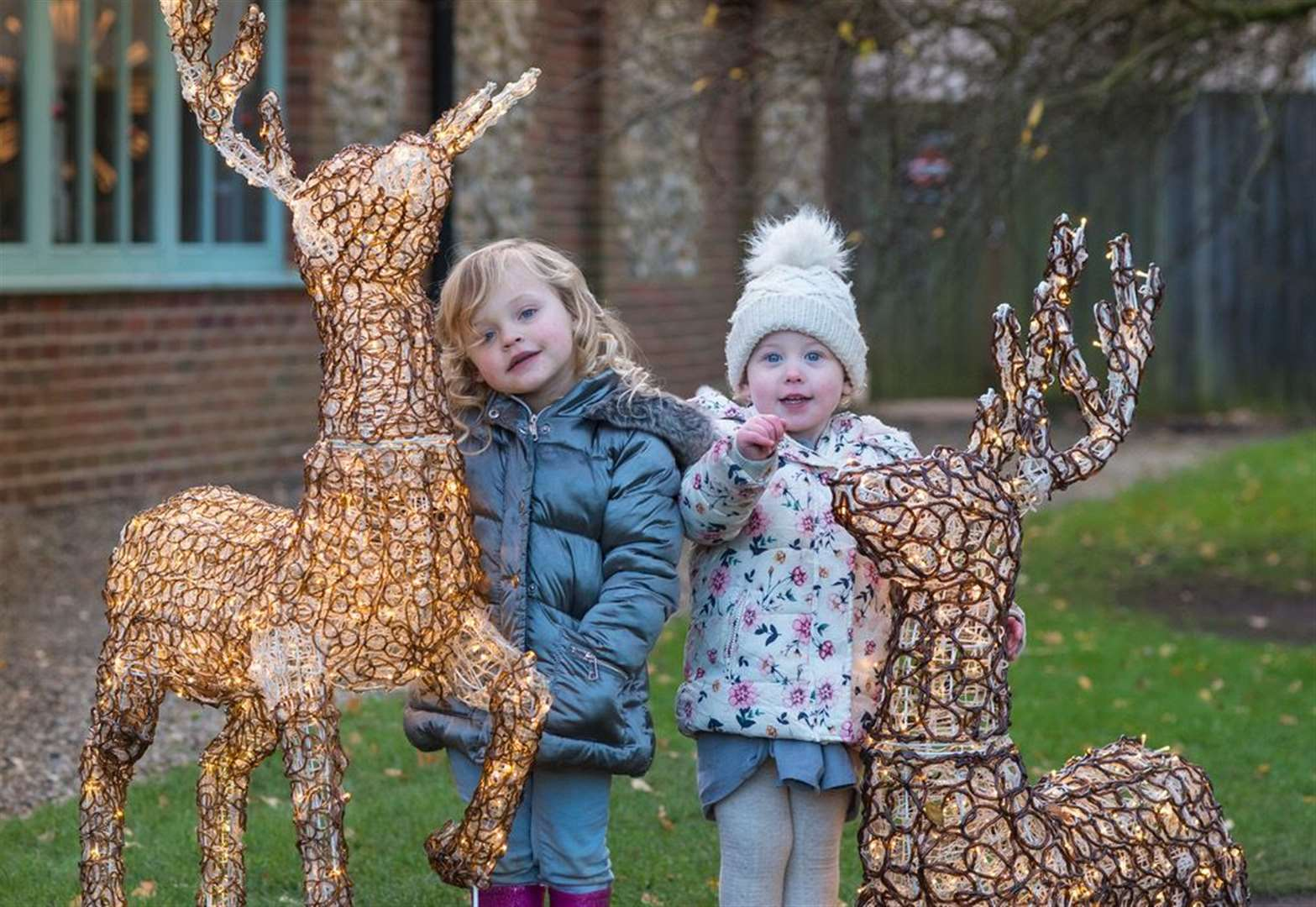Pensthorpe enters the Christmas spirit theme