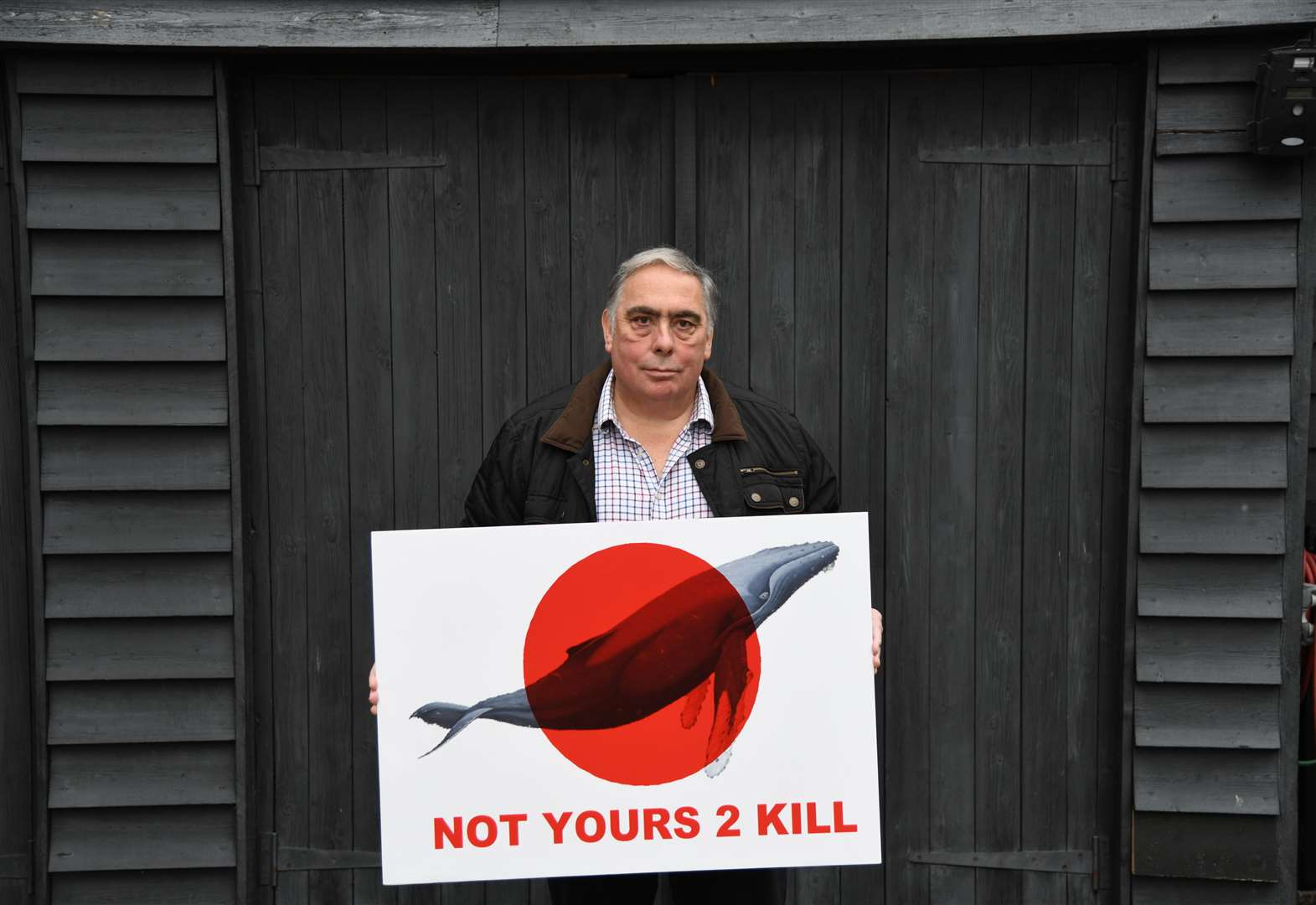 East of England MEP takes part in anti-whaling march