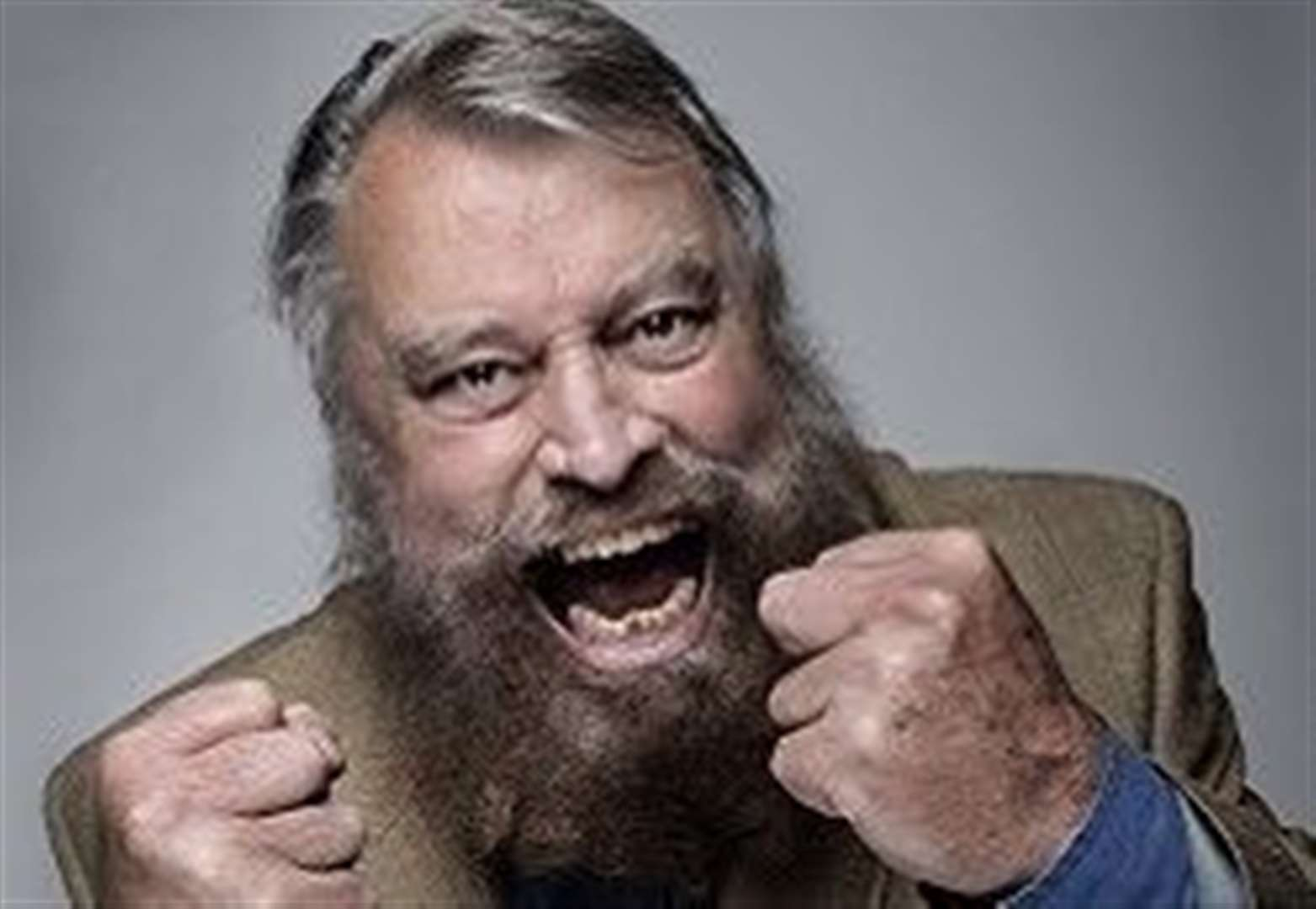 REVIEW: Brian Blessed. Alive Corn Exchange, King's Lynn