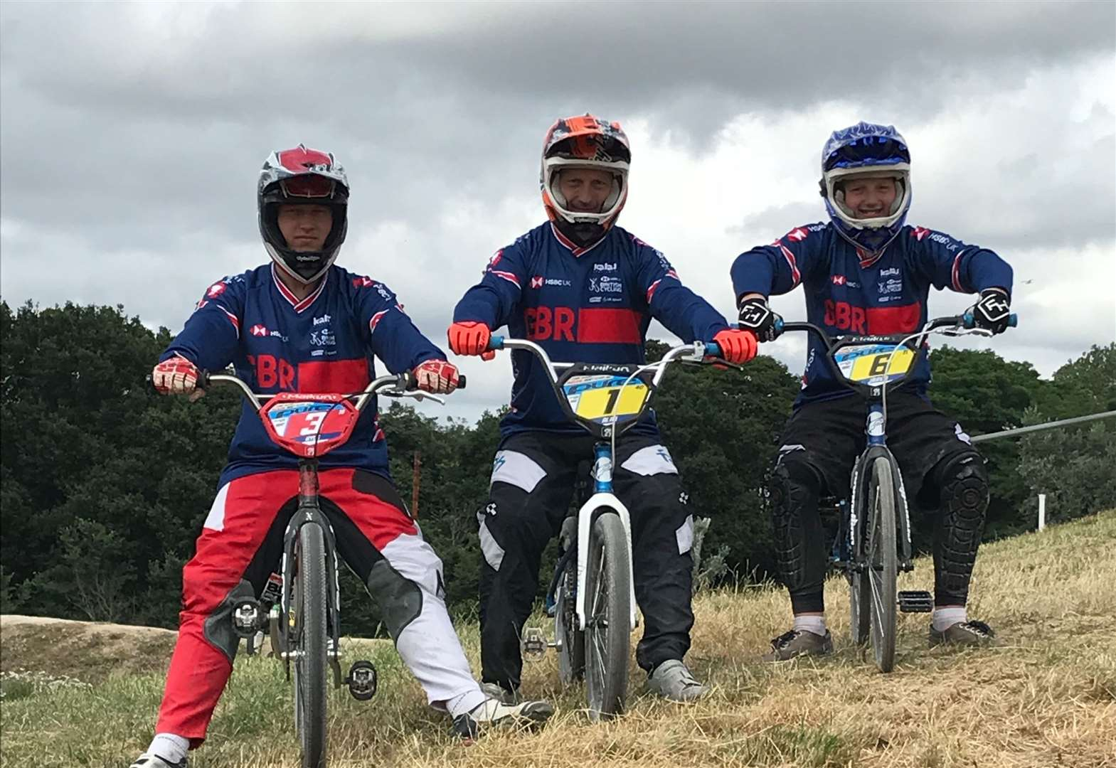 Hill family in Glasgow for British BMX series contests