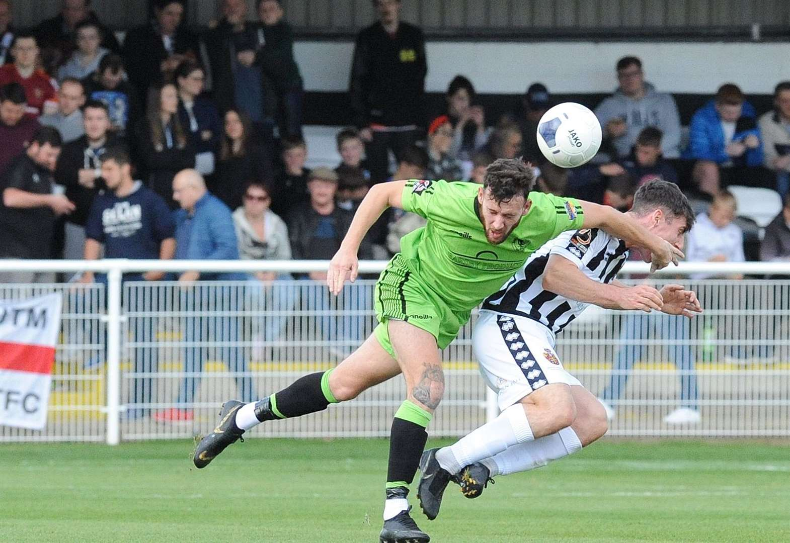 Linnets player says it's good to get Spennymoor wake-up call