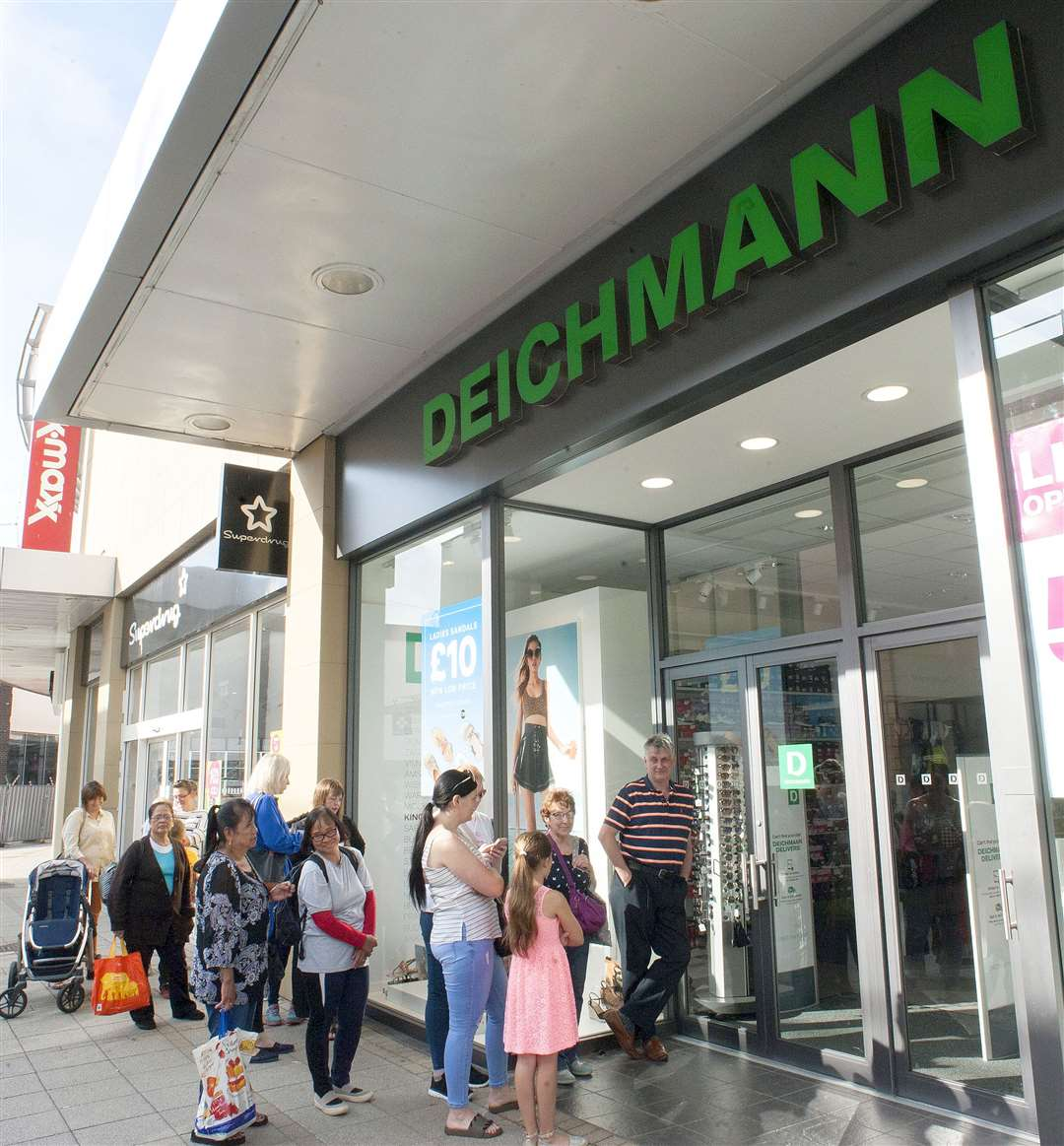 Opening of the Re-Furbished King's Lynn Deichmann Store.. (14858540)
