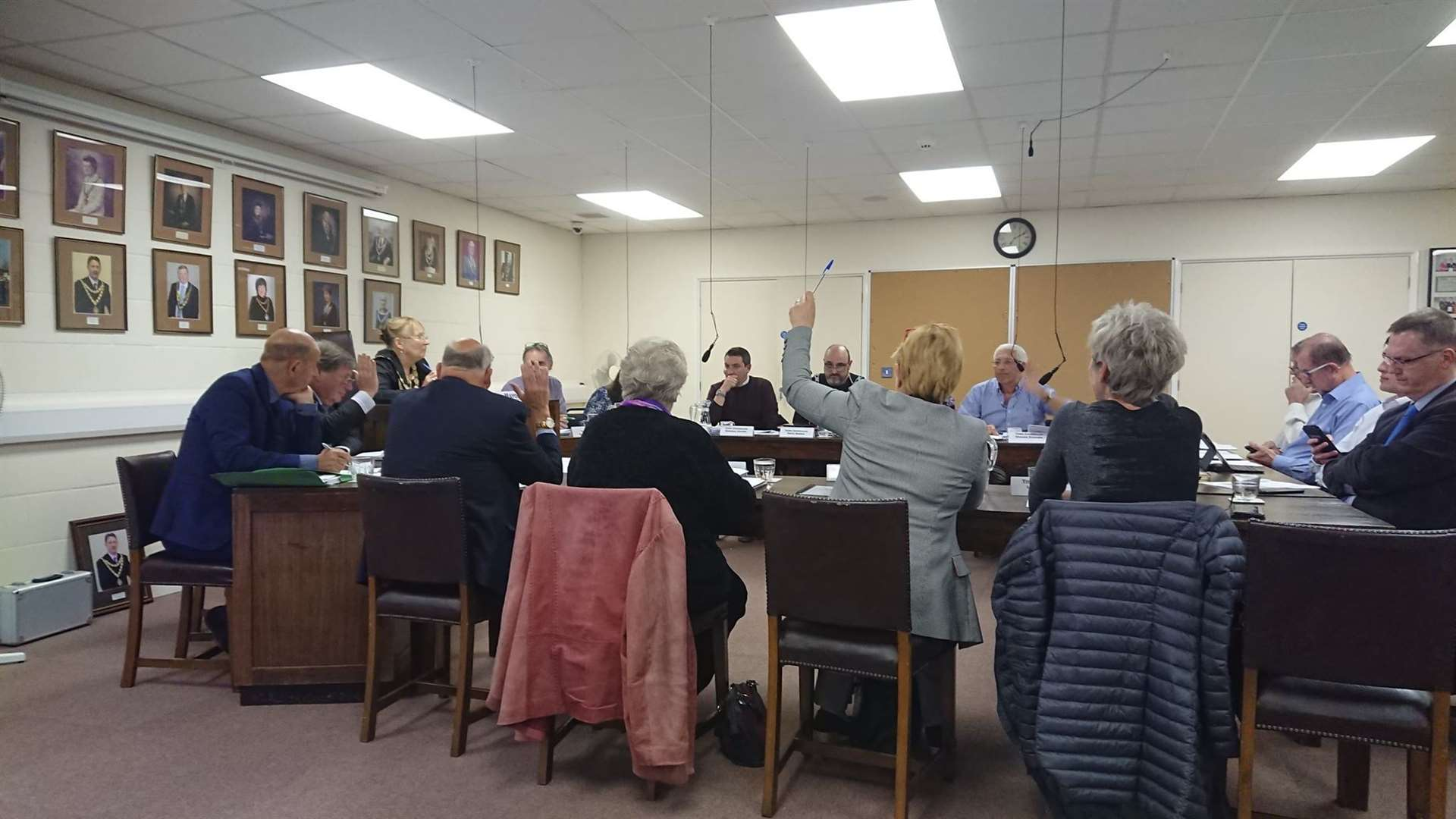 Prior to the pandemic, Swaffham Town Council usually meet in the council chamber in the town hall