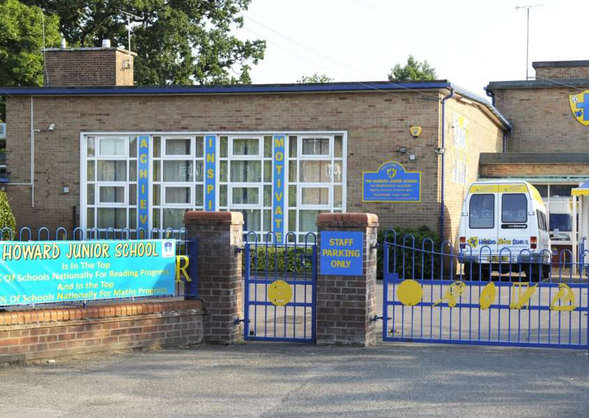 GV picture of Howard Junior School, Parkway King's Lynn