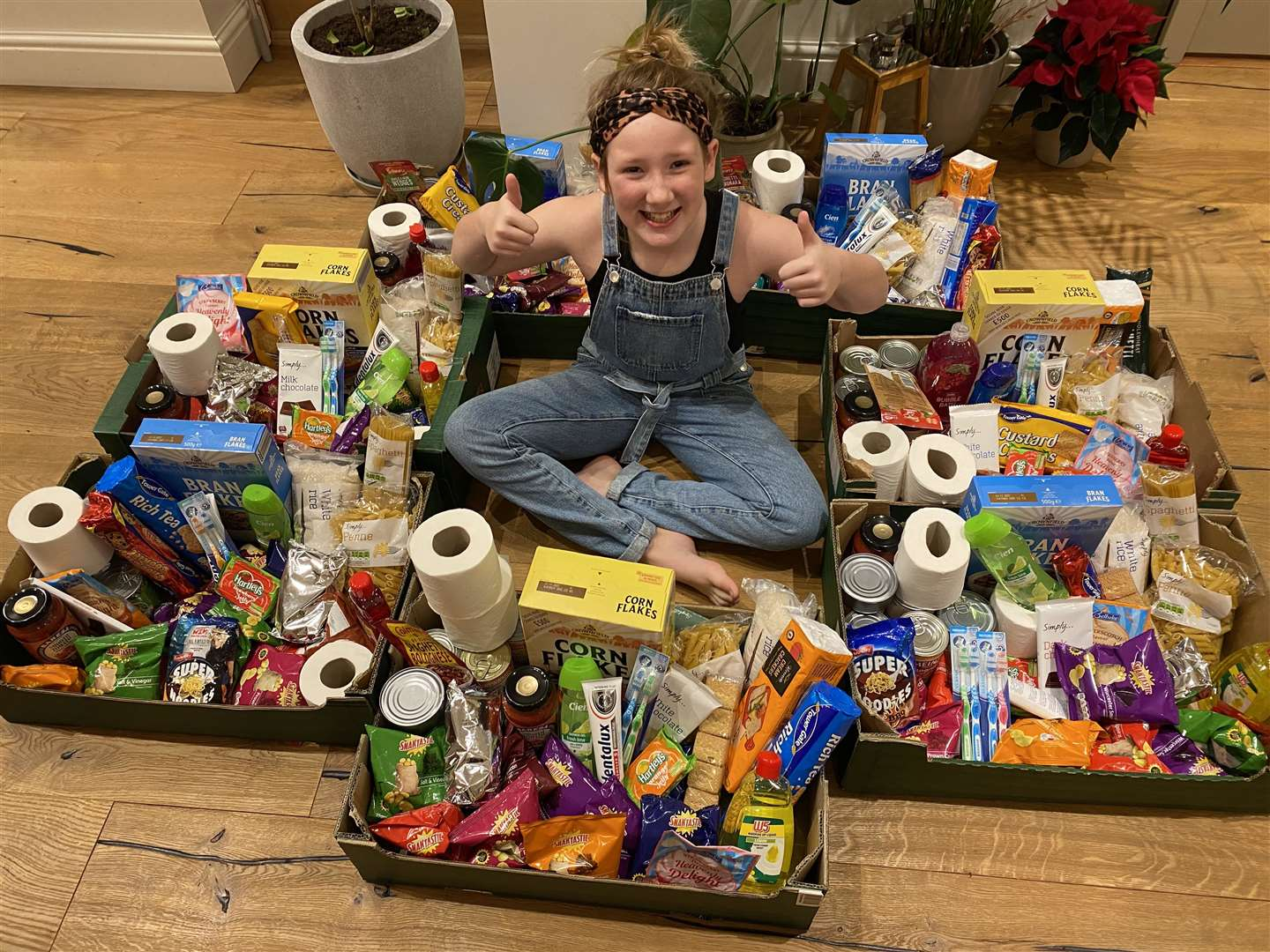 Ava MacGowan-Rudd, 8, of Heacham, sold her old toys for £90 so she could create care packages for the Purfleet Trust after being inspired by a Youtube video