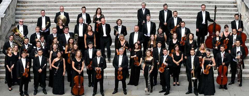 The 52-strong Royal Philharmonic Orchestra.Photo supplied.
