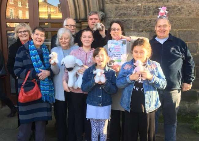 Can you help find one of St John's Chruch's lost sheep?