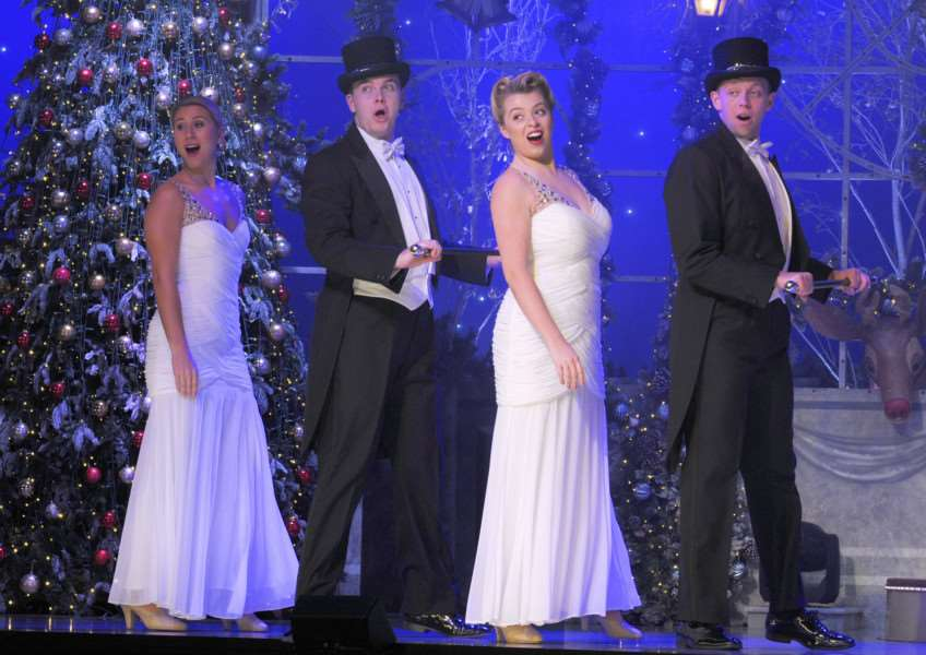 Thursford Christmas Spectacular 2017'Full Dress Rehearsal for the Show Monday 6th Nov