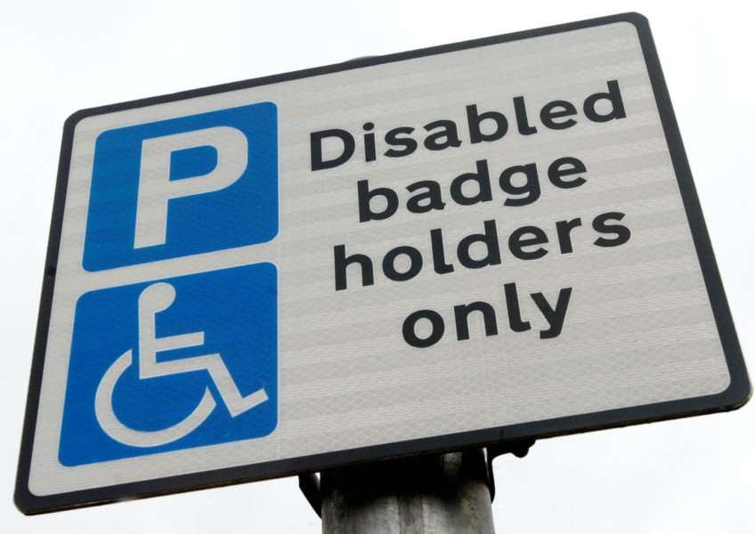 The woman used a Blue Badge which had expired three years earlier