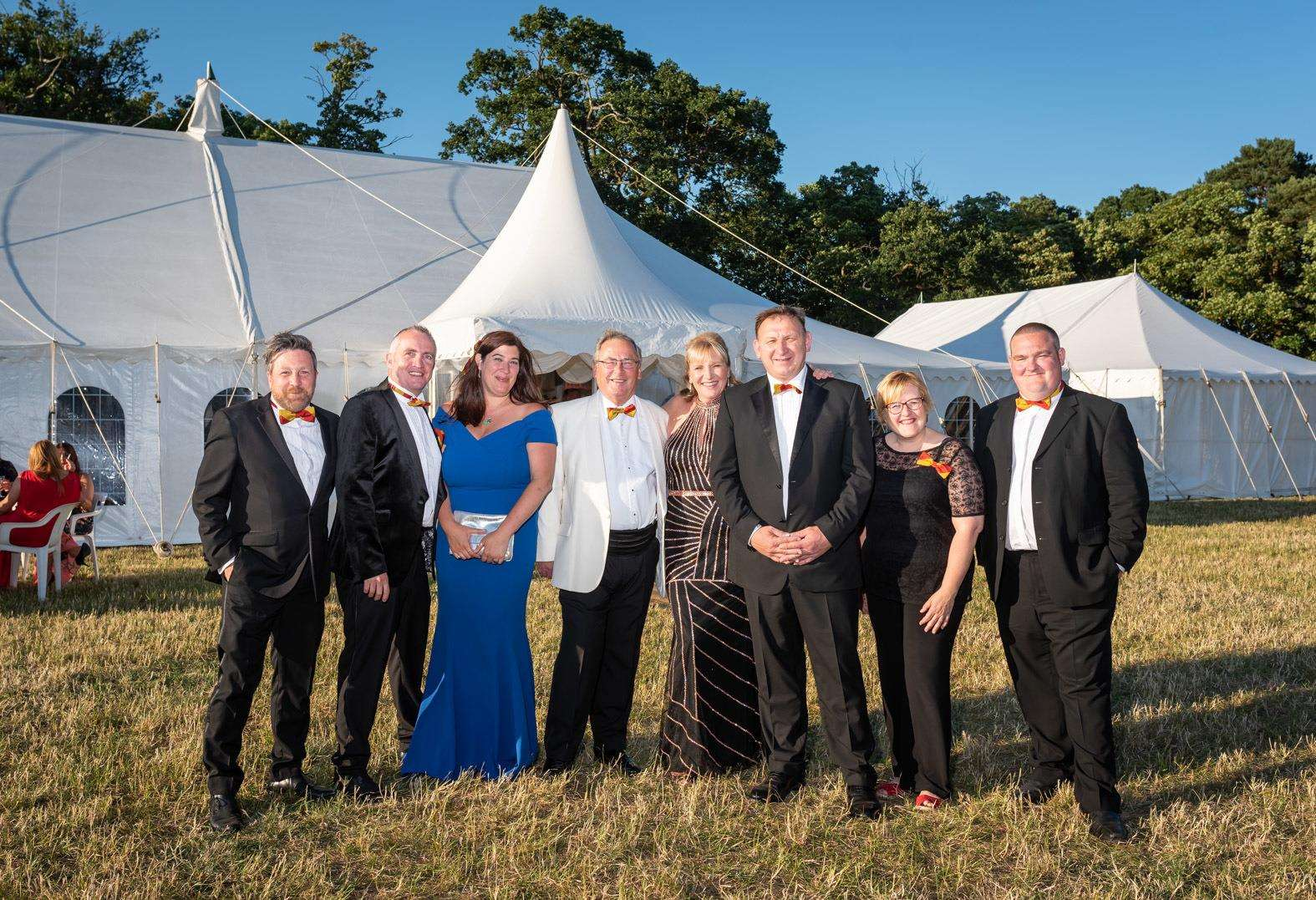 The announcement came after the Festival Too Ball which was held at the weekend. Committee members are pictured, from left, Triston Finnis, Alan Taylor, Abbie Panks, Nick Daubney, Bridget Nurse, Shaun Blackmur, Kate Francis and Simon Wade. (2586242)