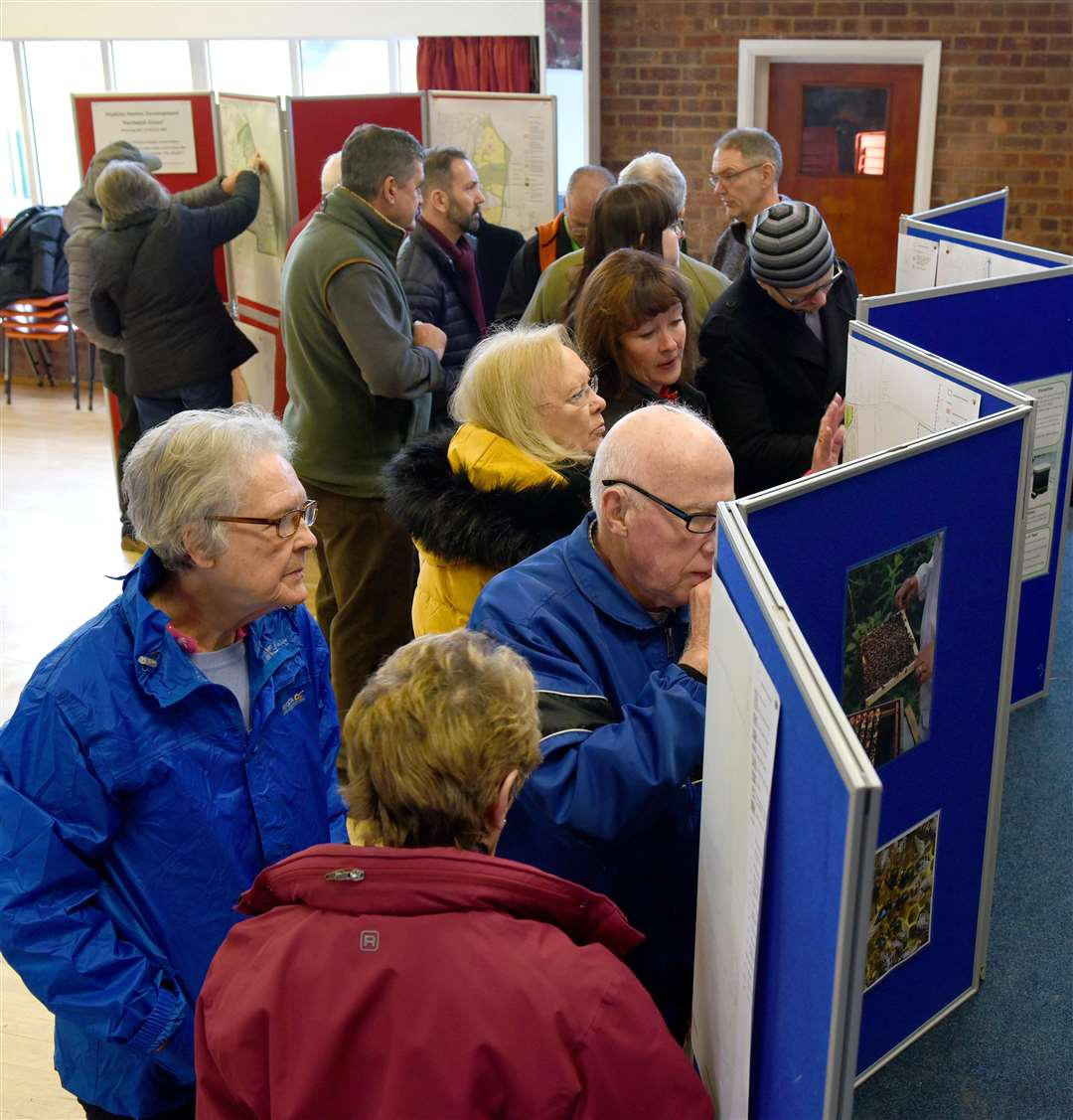 West Winch and North Runcton Parish Councils held a Public Meeting on Saturday 2nd February 2019 at West Winch Village Hall.