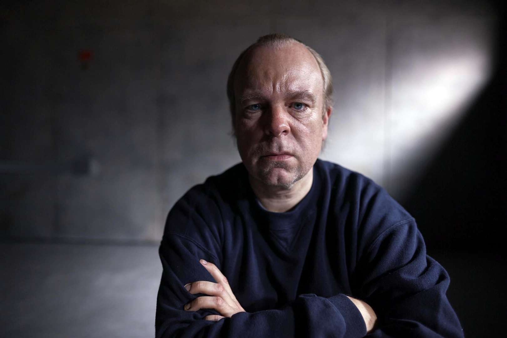 Actor Steve Pemberton as Tony Martin in Channel 4's The Interrogation of Tony Martin, created by Story Films. Picture: SUBMITTED. (5485309)