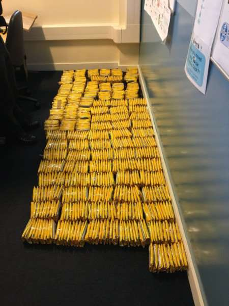 A male in his 30s was arrested on February 13 in the Wisbech area after his vehicle was stopped using false plates. Police also discovered nearly �49,000 worth of illegal tobacco.