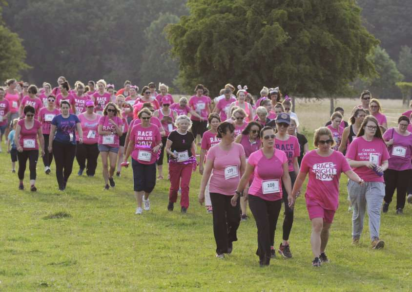 Race for Life 2017 at Houghton Hall iao of Cancer Research UK
