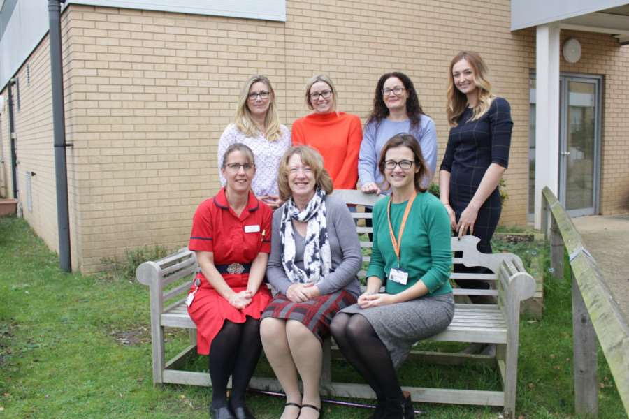 Group pictureat QEH. Photo: SUBMITTED.