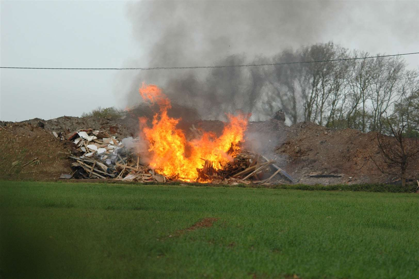 220,706 tonnes of rubbish were burned in Norfolk during 2017-18