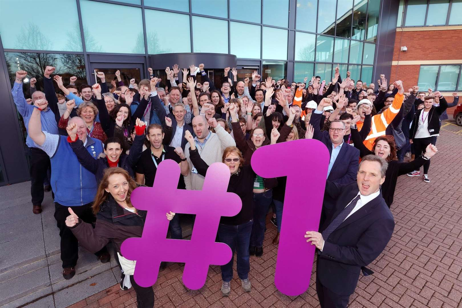 Anglian Water is named top place to work in a review of employers.