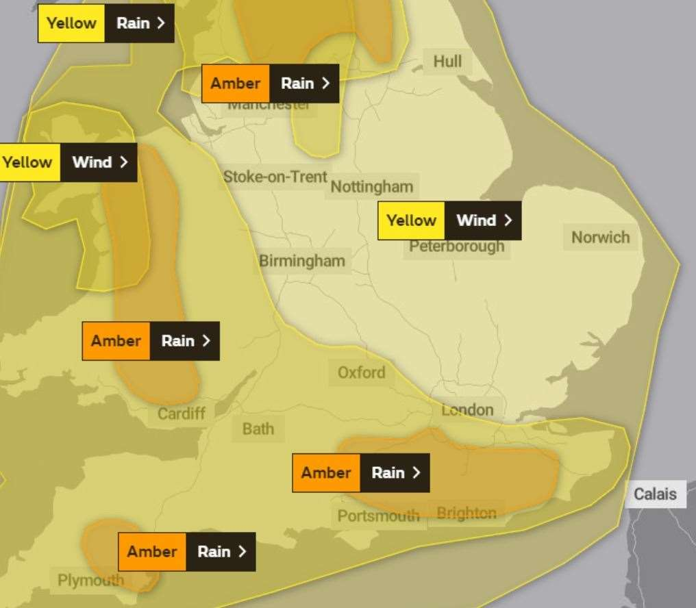 Storm Dennis: Status orange wind warning issued for Waterford and Wexford