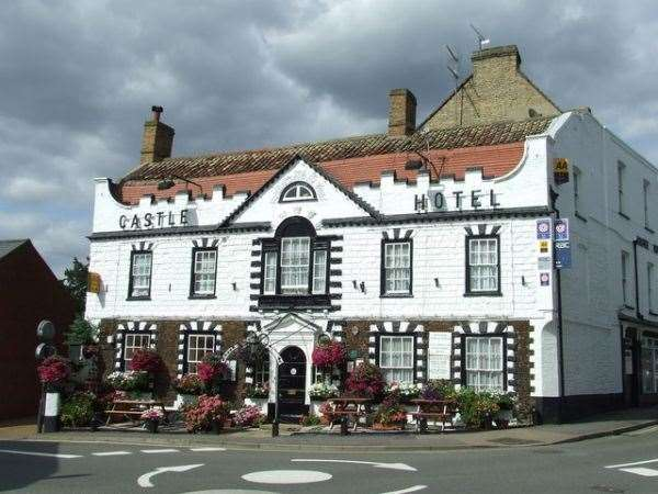 The Castle Hotel in Downham, which is subject of a planning application to convert it into housing (25496363)