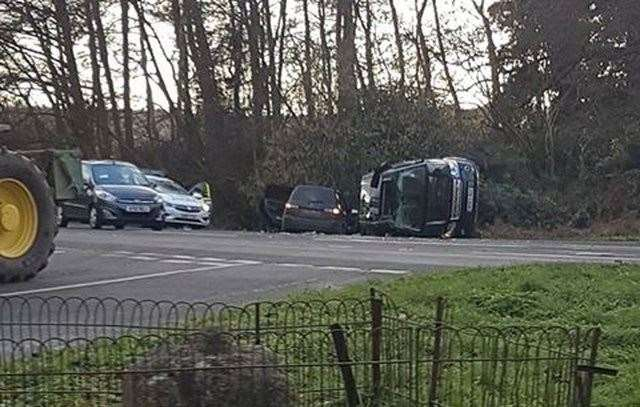 A lower speed limit could be put in place at the scene of the crash involving Prince Philip on the A149.