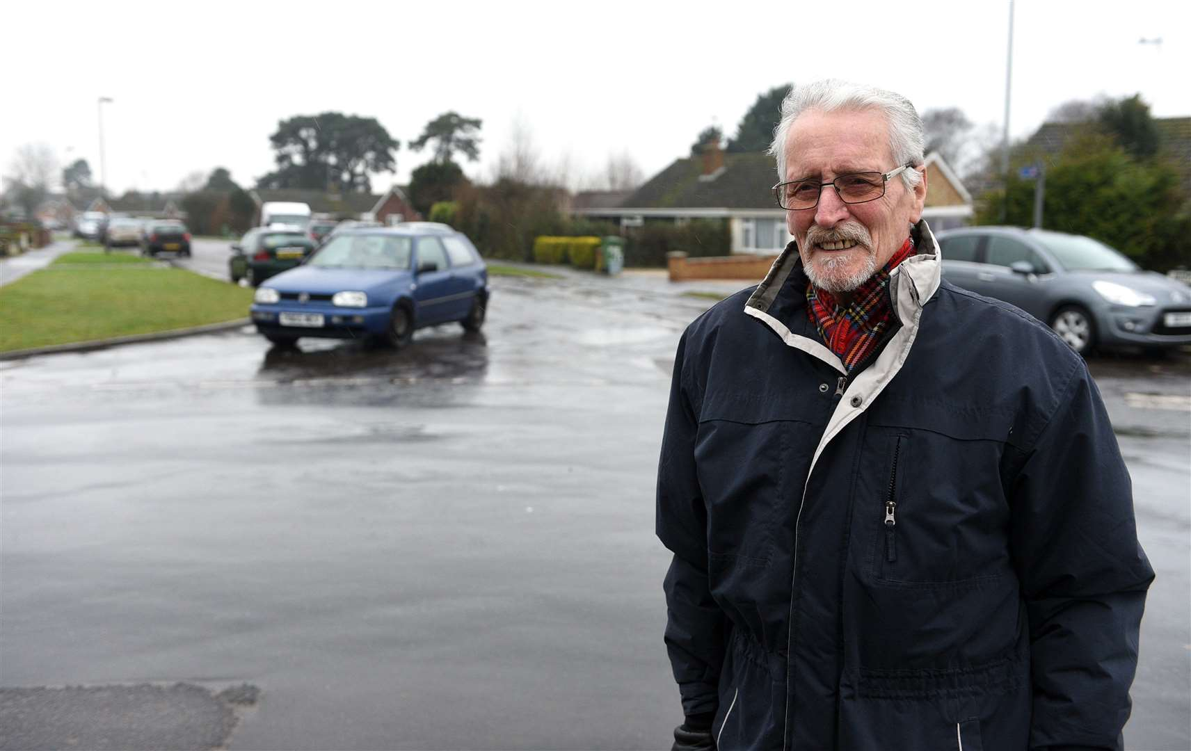 Colin Bulley who is concerned about parking and the road near Clackclose School Donwham Market. (43946543)