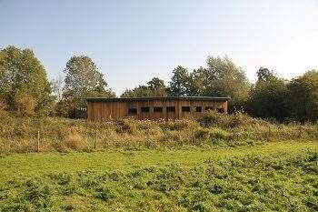 The new building at Sculthorpe Moor Nature Reserve (42668243)