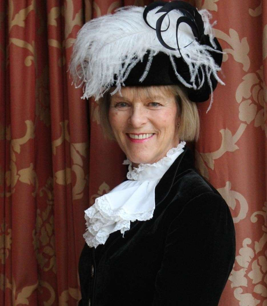 Georgina Roberts was declared as the new High Sheriff of Norfolk on Monday