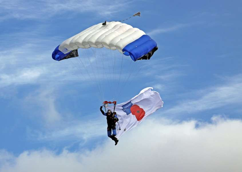 The Jump4Heroes Extreme Human Flight Team will feature at Holkham Country Fair