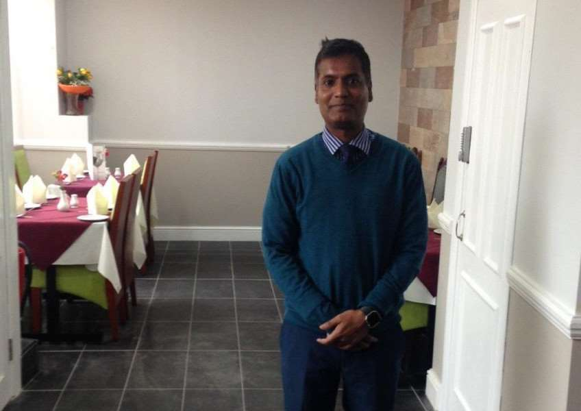 Downham Tandoori owner Anwar Ali in the new restaurant space.