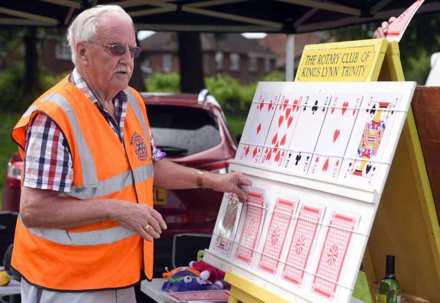 King's Lynn Lions Family Fun Day, The Walks ''Trinity Rotary Peter Harris