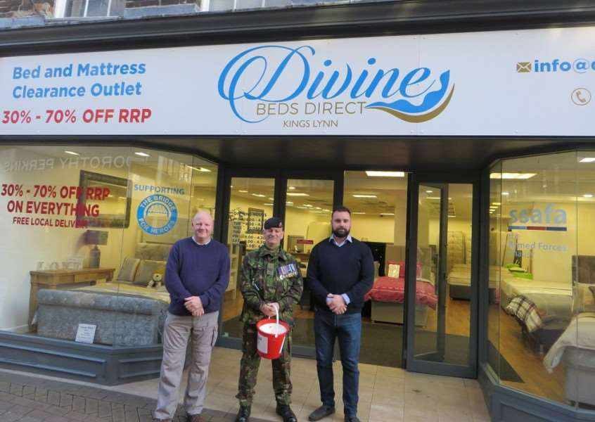 Divine Beds steps in to help veterans at risk or are already homeless