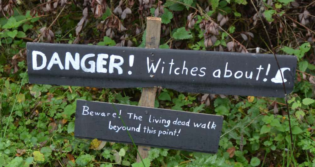 Titchwell Wild Things'A sign on the treasure trail