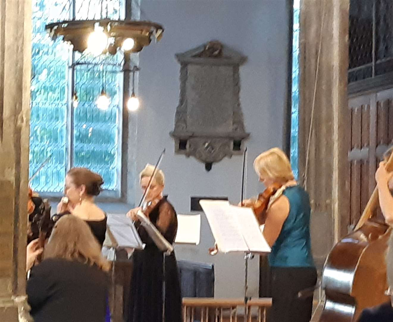 London Handel Players perform works by Telemann, Vivaldi, Bach and Herschel at St Nicholas Chapel during the 69th King's Lynn Festival. (14086280)