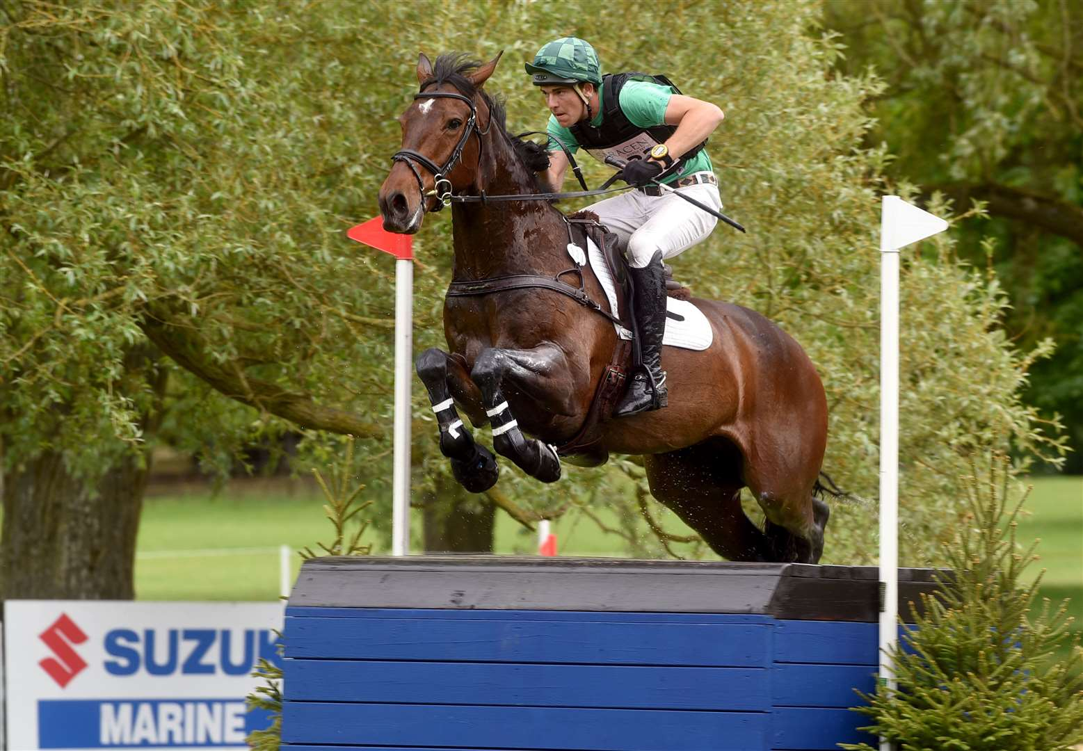 Houghton Horse Trials..Richard Coney riding Master Ping. (11187904)