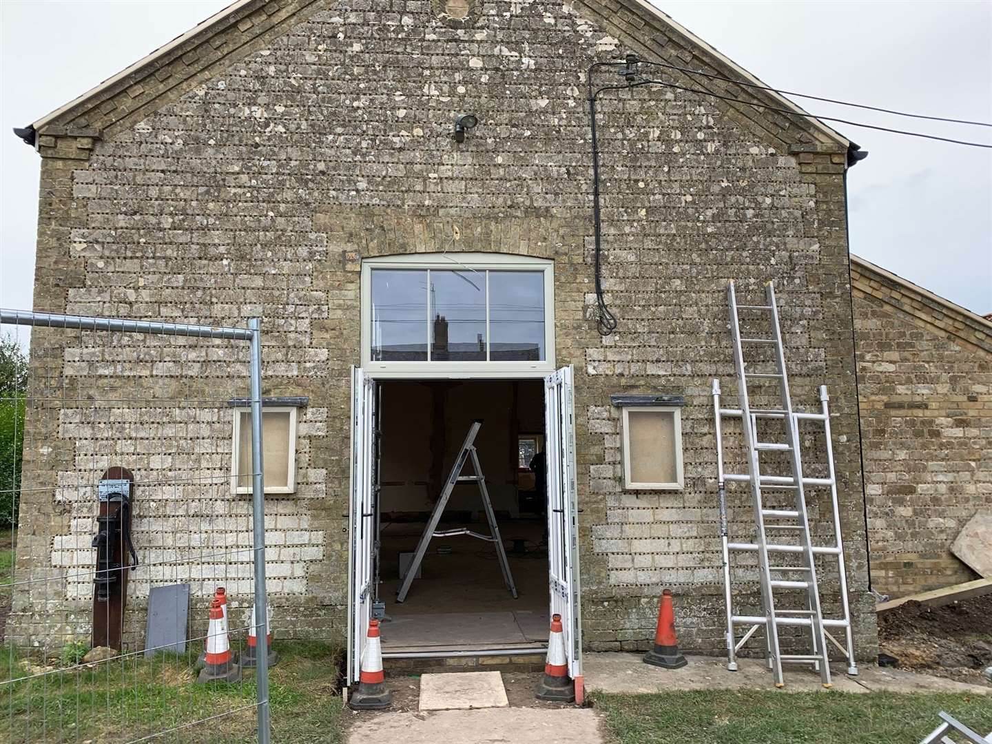 Barton Bendish Village Hall is being revamped. Picture: Freebridge