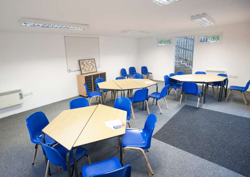 Opening of New completed classroom at Harpley Primary School.