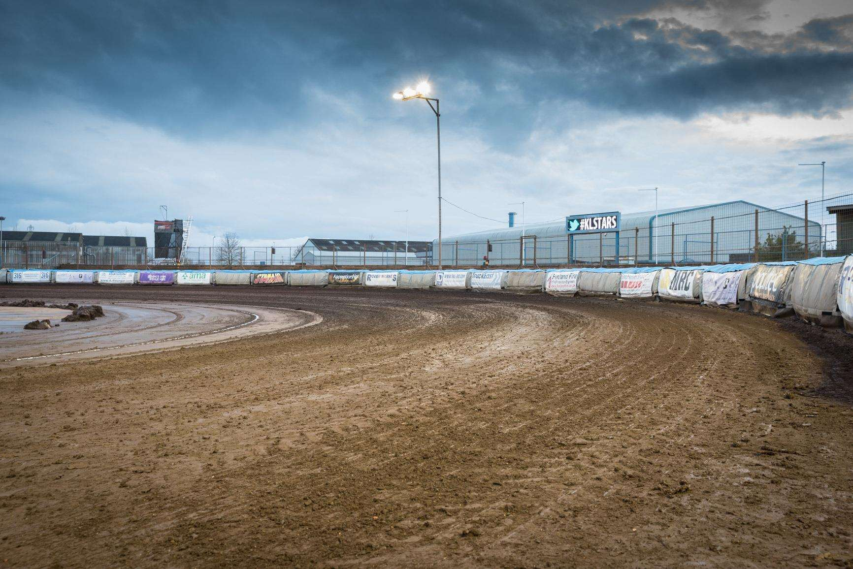 Heavy rain called an end to the planned Speedway meeting at the Adrian Flux Arena.. (6949264)