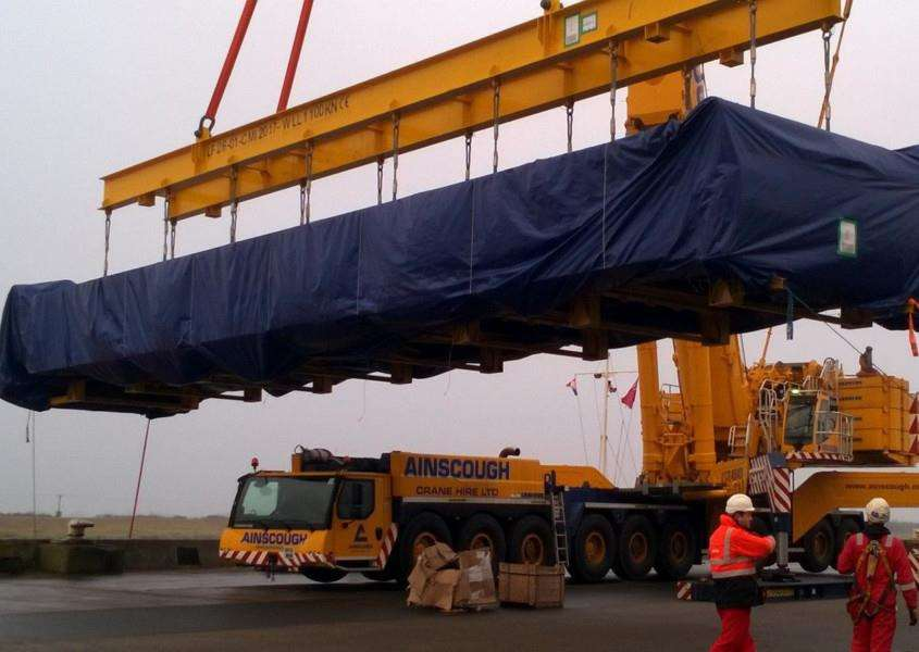 Port of Lynn takes delivery of boiler for Centrica plant