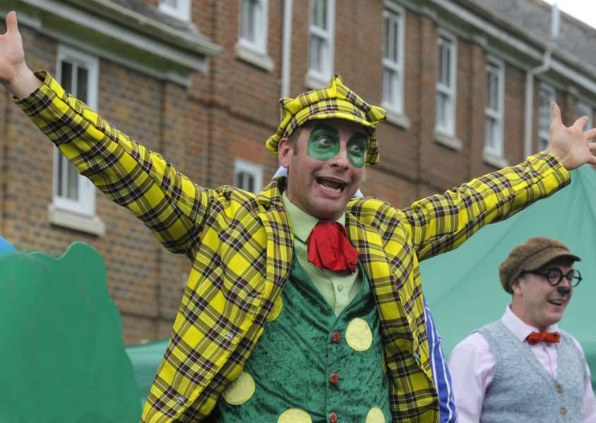 Open-air theatre production of a beloved story, Wind in the Willows in the Walks, King's Lynn