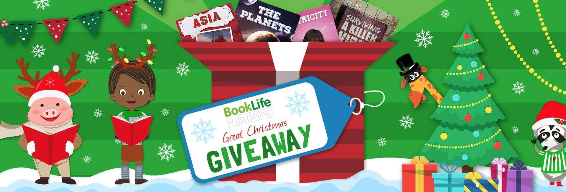 BookLife Publishing are hsoting a Great Christmas Giveaway(22760620)