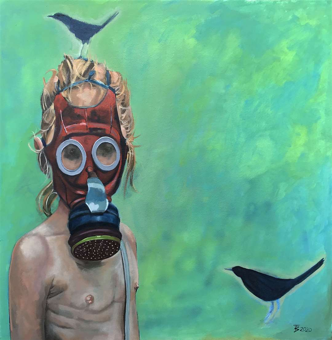 Gas Mask by Terri Broughton (32198652)