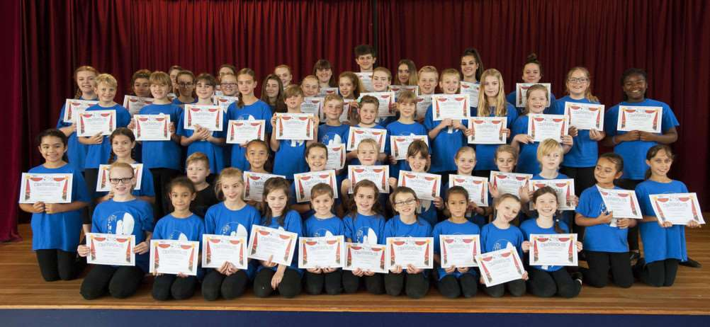 Achievement of some King's Lynn Stage School Students