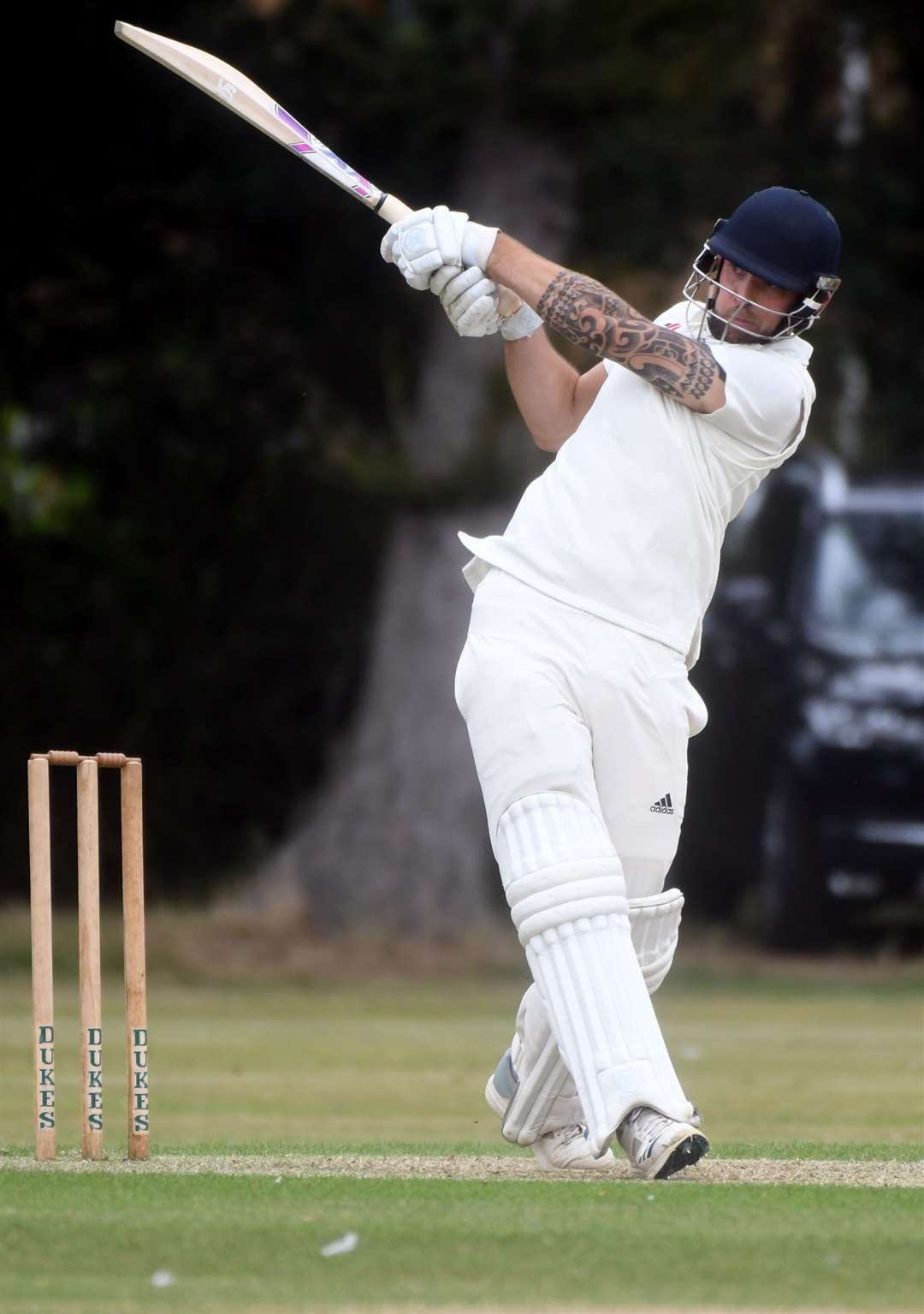 Fakenham v Stow cricket..Lloyd Marshall. (15991026)